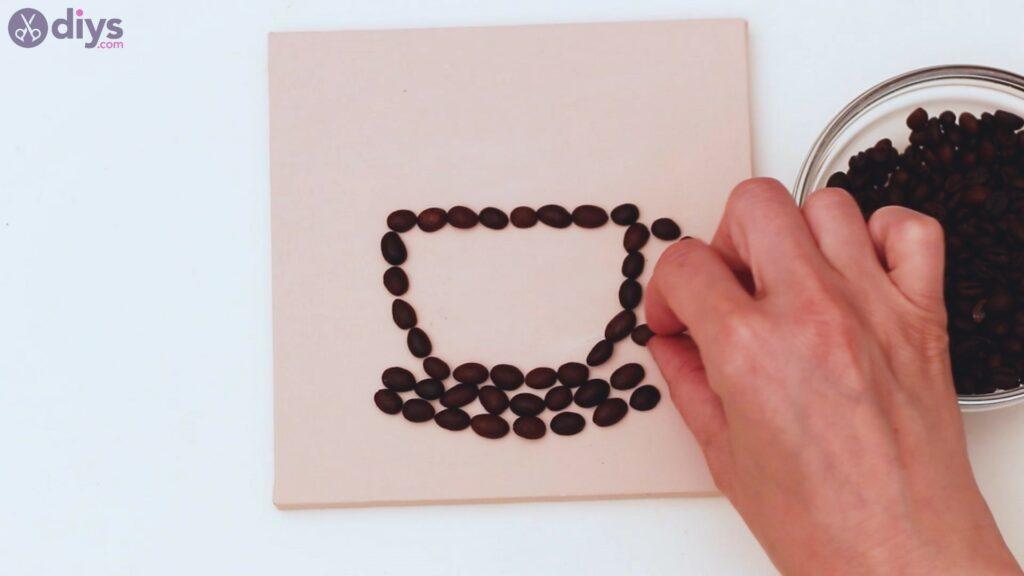 Coffee beans art steps (14)
