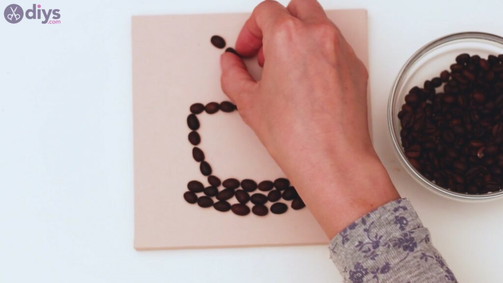 Coffee beans art steps (15)