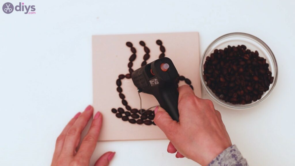 Coffee beans art steps (21)