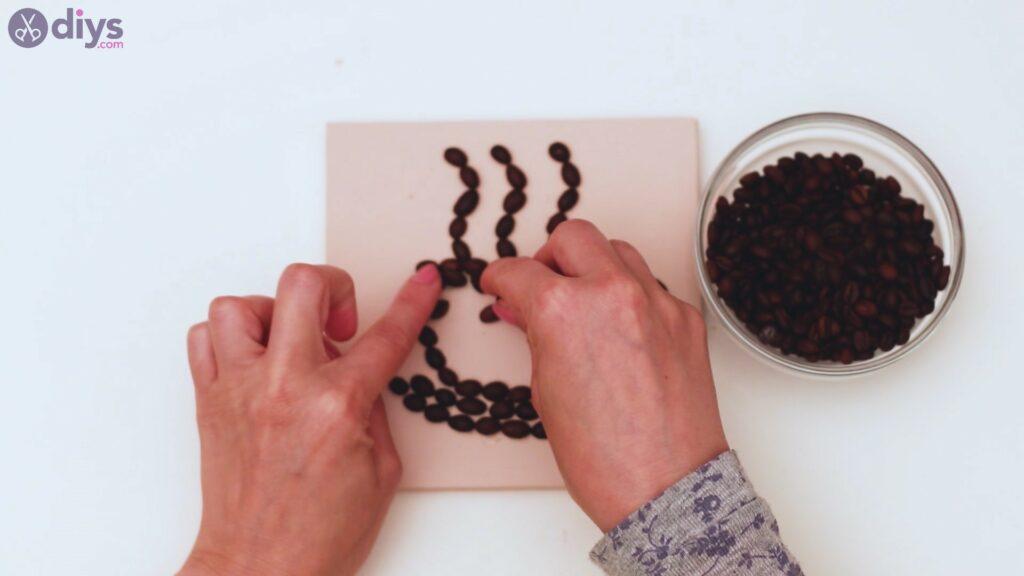 Coffee beans art steps (22)