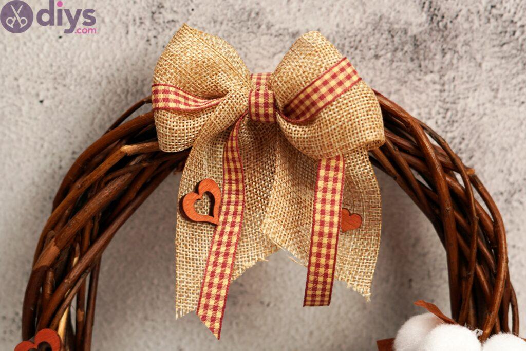 Cotton flower wreath pics (4)