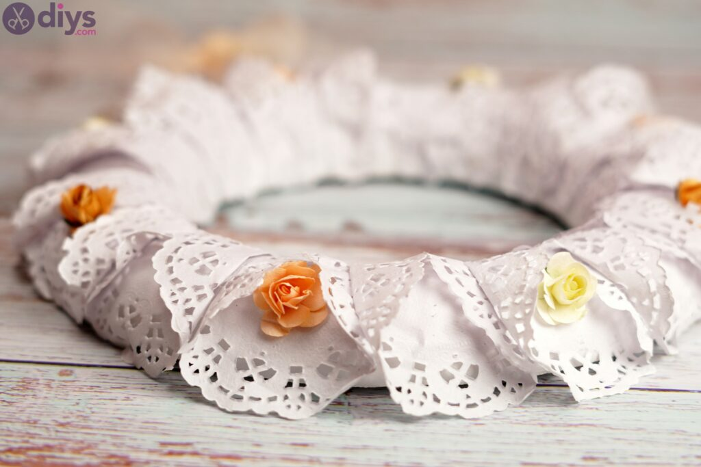 DIY Doily Wreath – Make Yourself a Perfect Easter Decoration