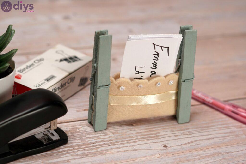 Felt card holder photos (3)
