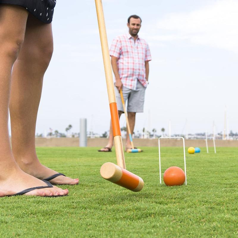 Gosports six player croquet set for adults & kids