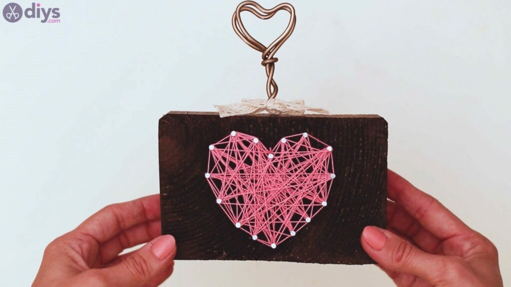 Heart photo holder
