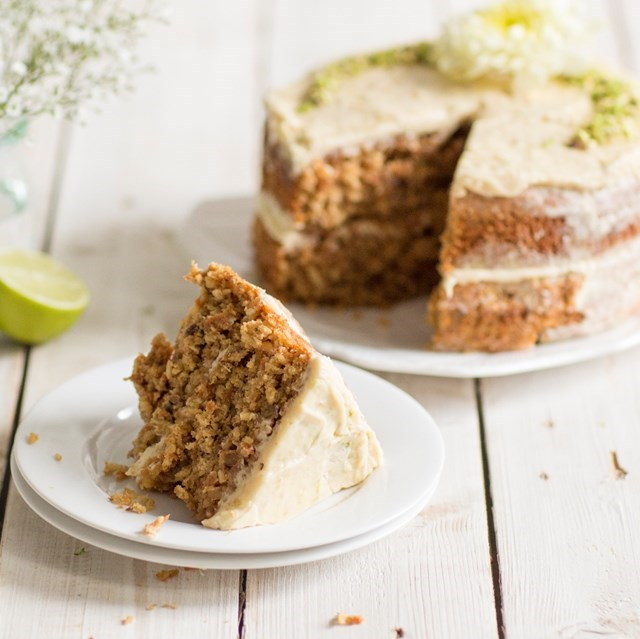 Light muscovado carrot cake