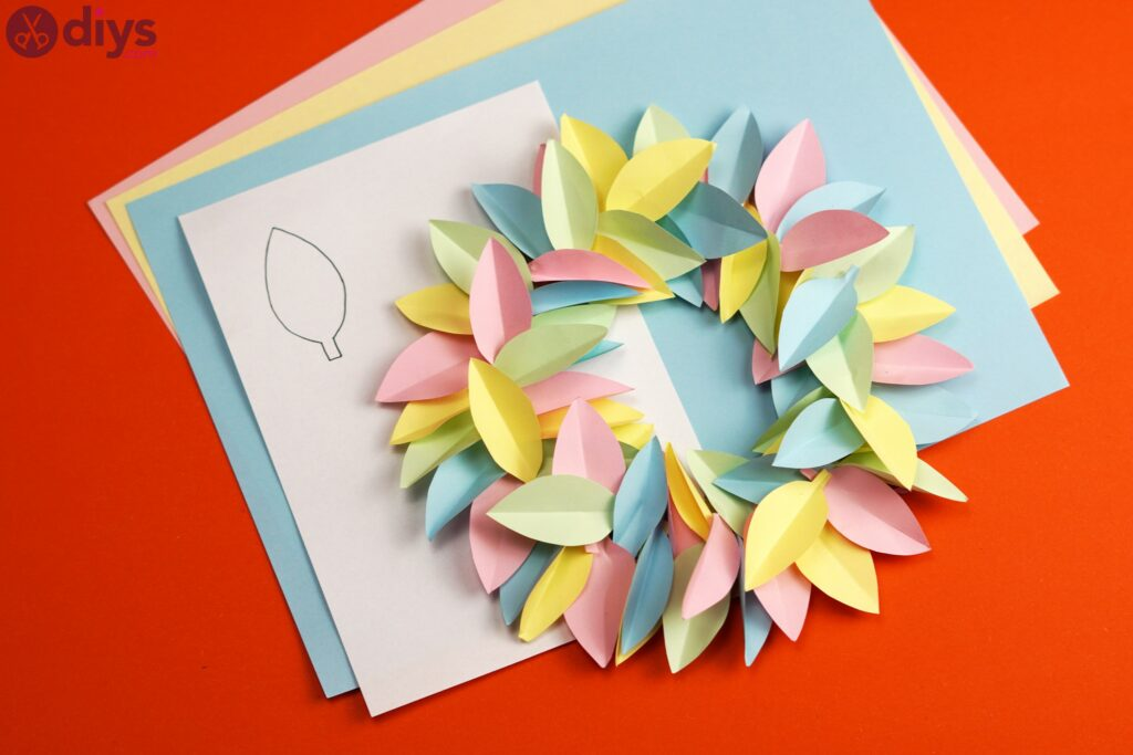 DIY Paper Flower Wreath – Create a Colorful Wreath to Cheer You Up