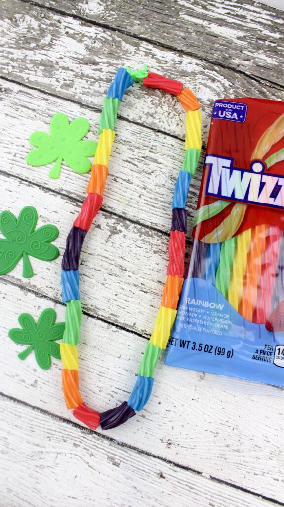 Preschool rainbow necklace