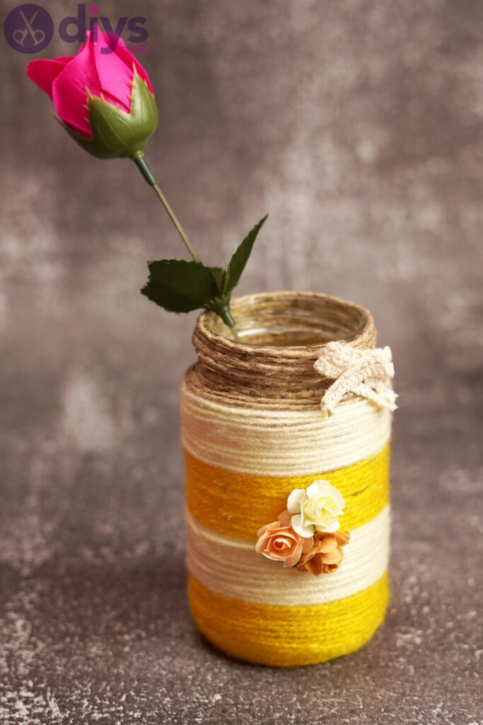 Rope wrapped vase photos (3)