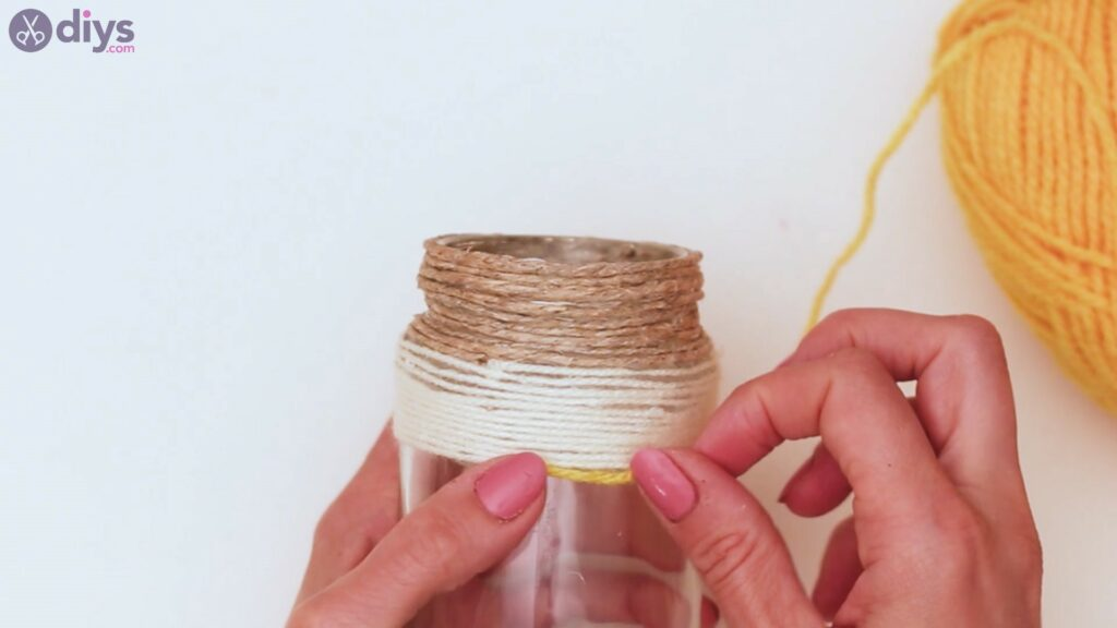 Rope wrapped vase steps (20)