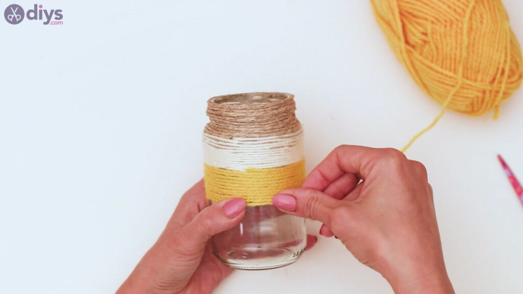 Rope wrapped vase steps (26)