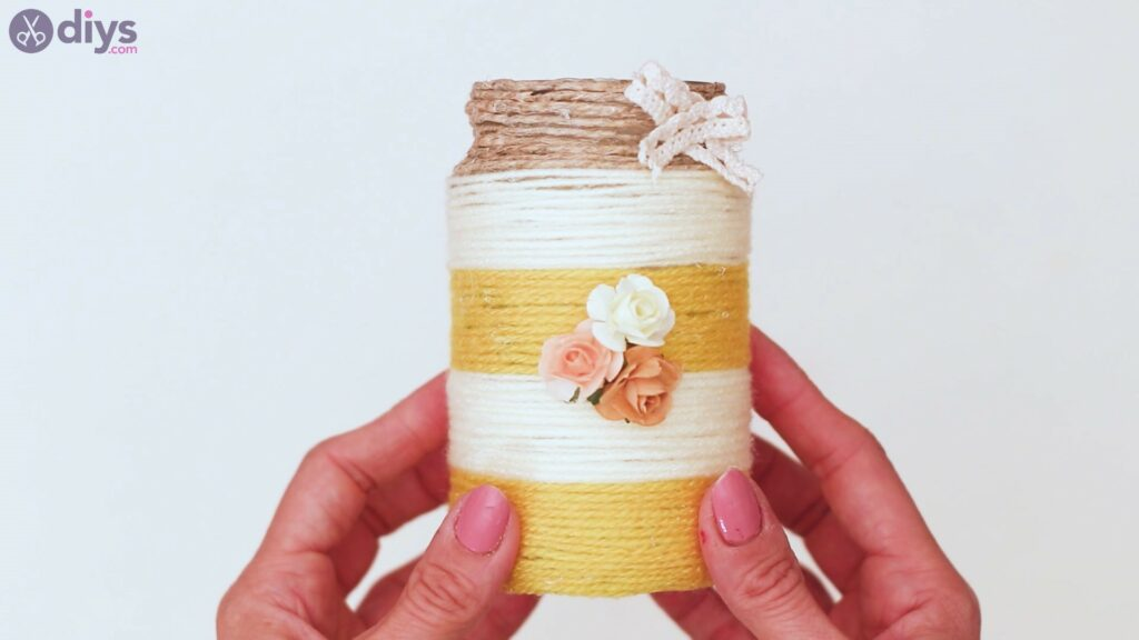 Rope wrapped vase steps (49)
