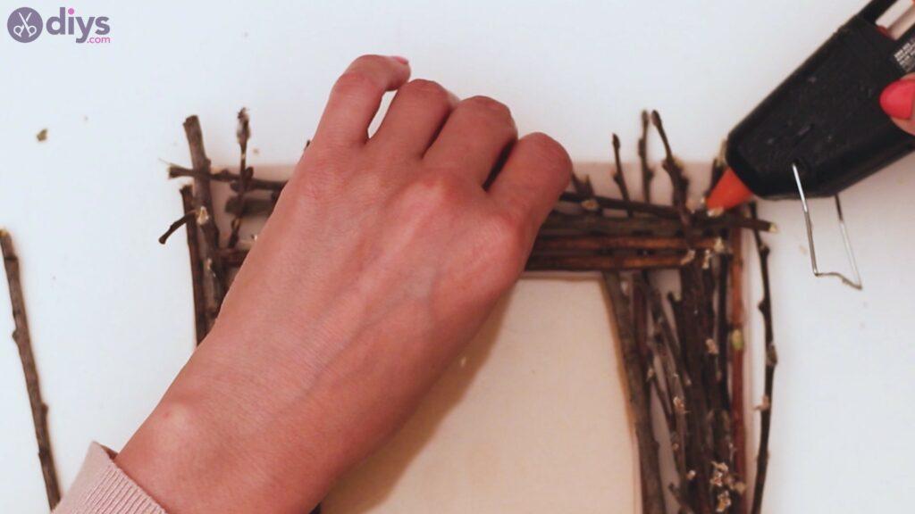 Rustic twig frame steps (18)