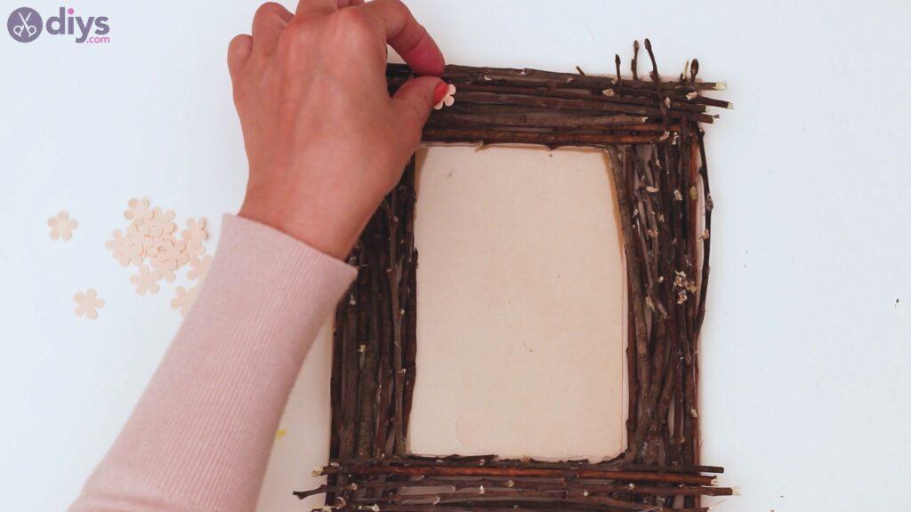 Rustic twig frame steps (20)