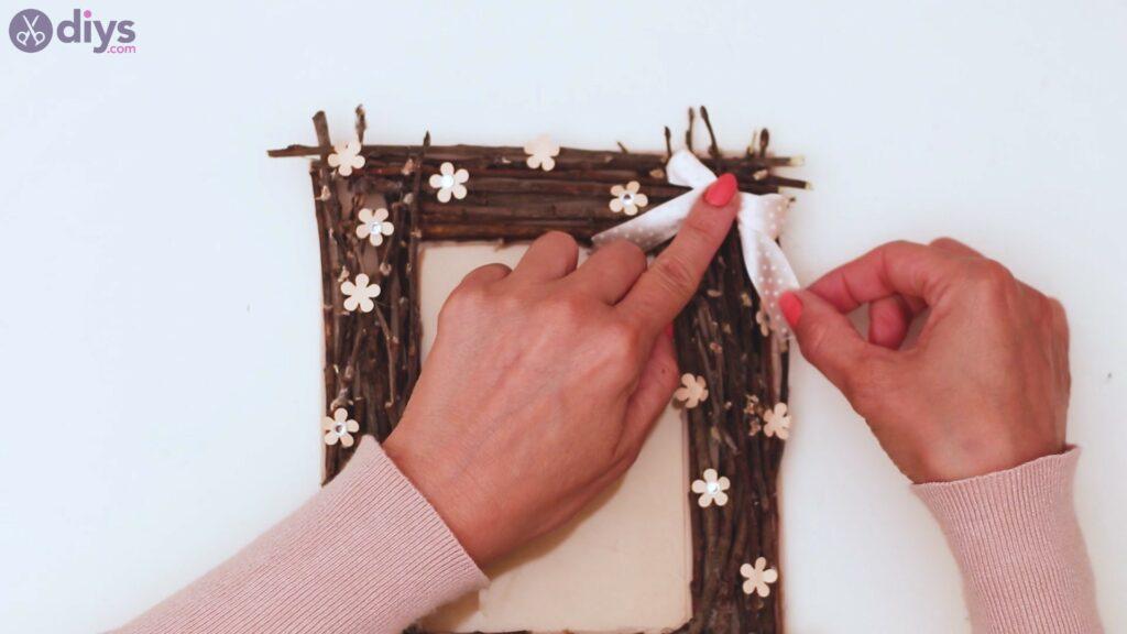 Rustic twig frame steps (36)