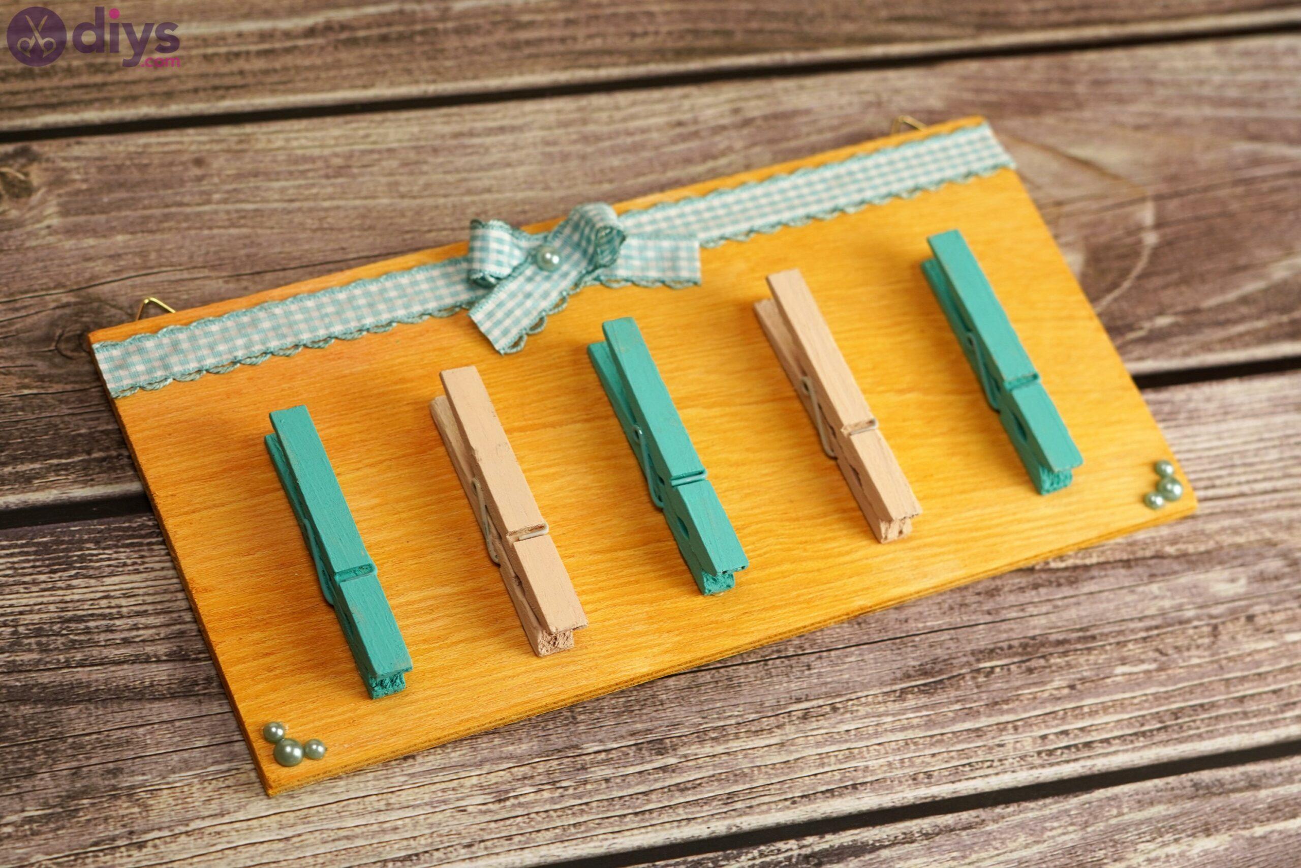 Rustic wooden memo board photos (8)