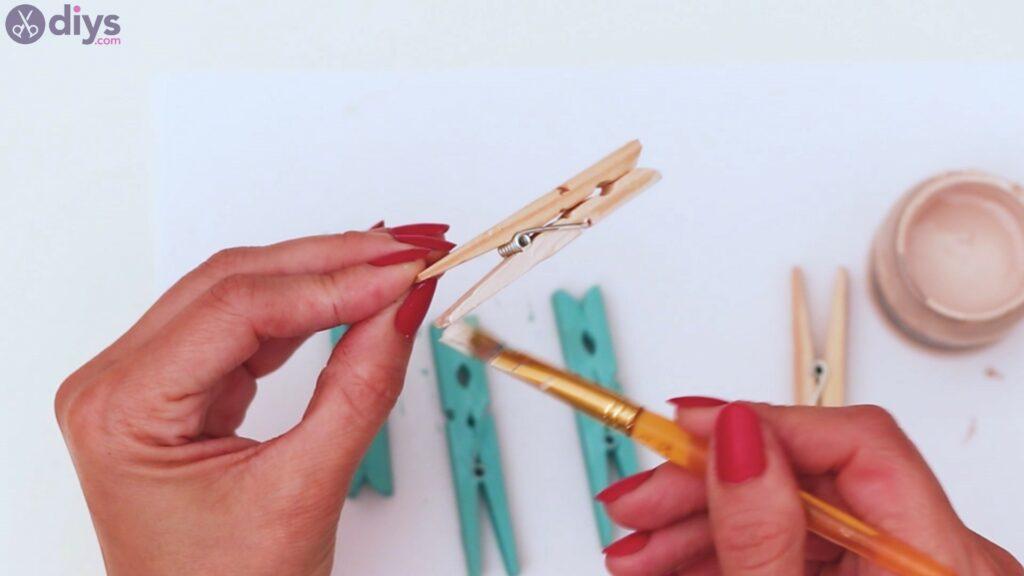 Rustic wooden memo board steps (11)