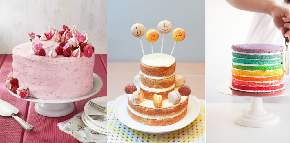 35 Adorable and Sweet Baby Shower Cakes for Girls