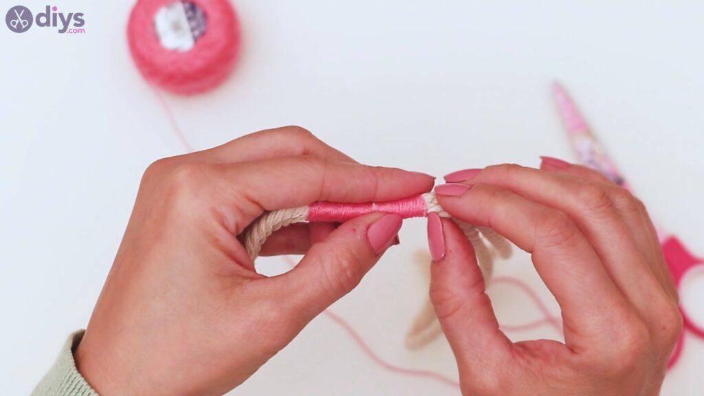 Textile keyring steps (12)