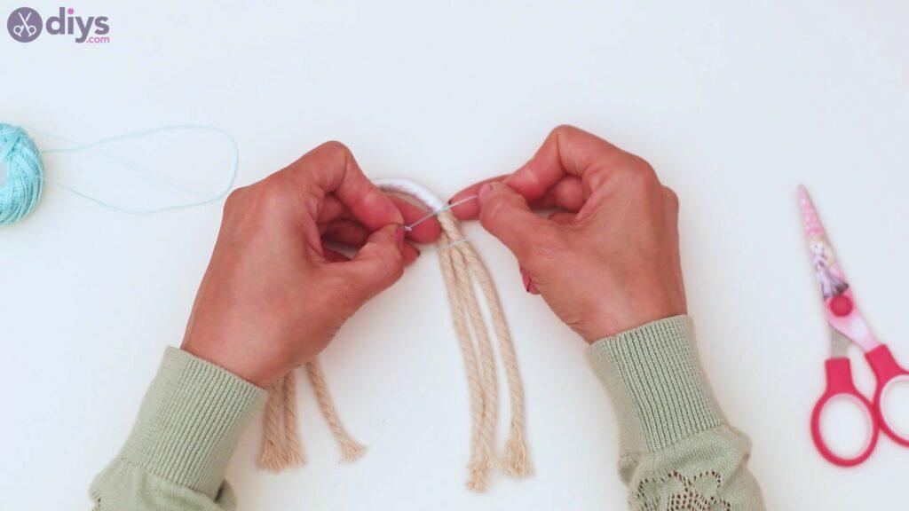 Textile keyring steps (19)