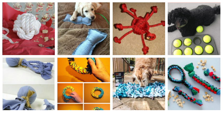 35 DIY Dog Toys to Keep Your Pup Entertained