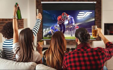 Elite screens manual b 100 inch projector screen