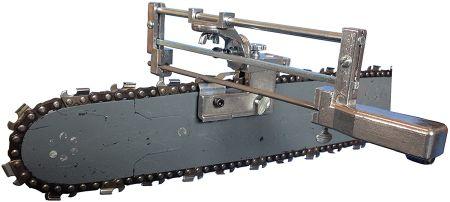 Granberg bar mount chainsaw sharpener
