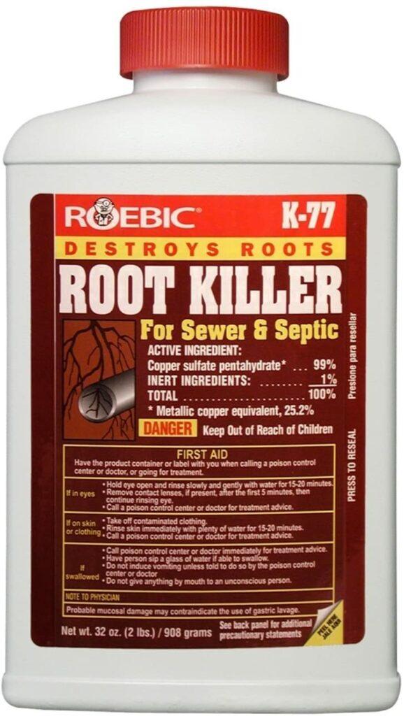 Roebic k 77 root killer