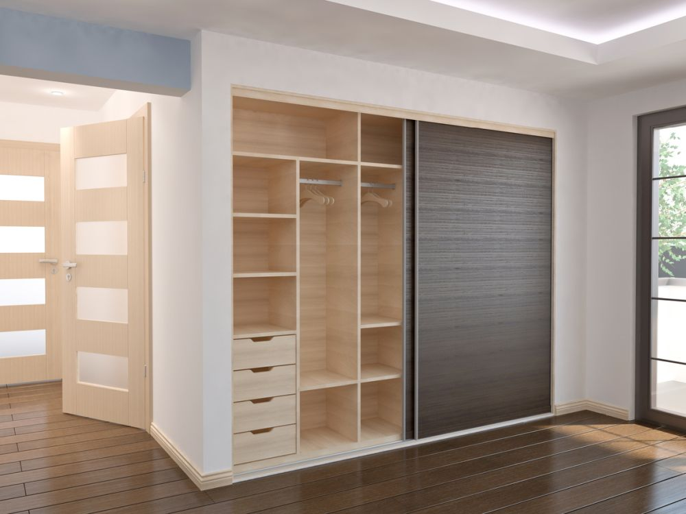 Closet with Sliding doors