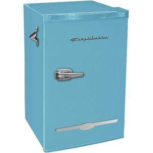 Frigidaire EFR376-BLUE 3.2 Cu Ft Blue Retro Bar Fridge
