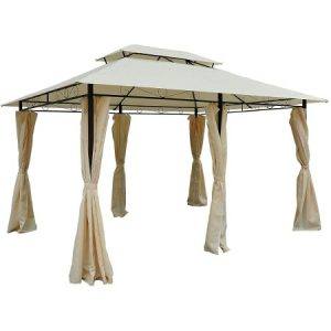 Outsunny 10' x 13' Outdoor Soft Top Pergola Gazebo