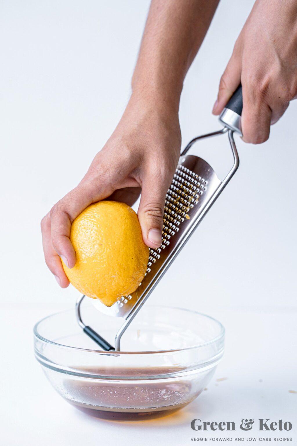 Keto Raw Lemon Bars