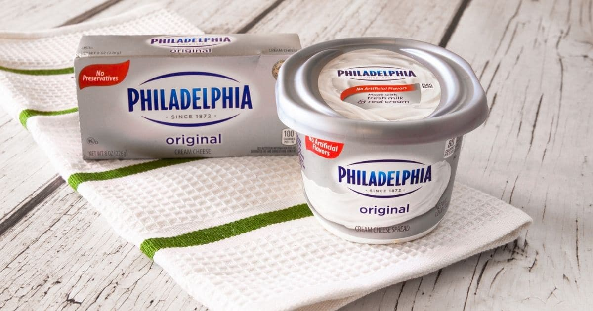 A picture of cream cheese