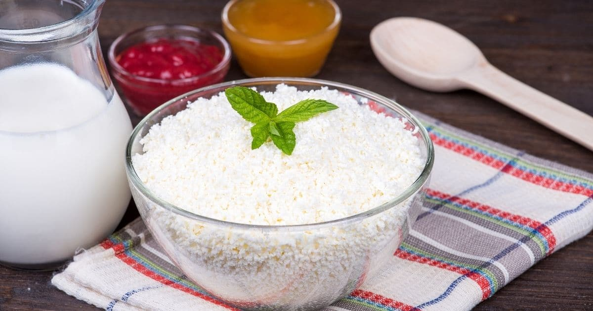 Dry Cottage Cheese