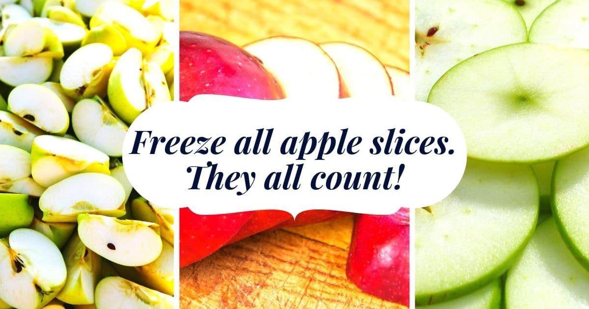 How to Store Cut Apples in the Freezer