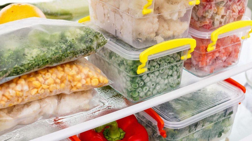 Freeze Roasted Vegetables