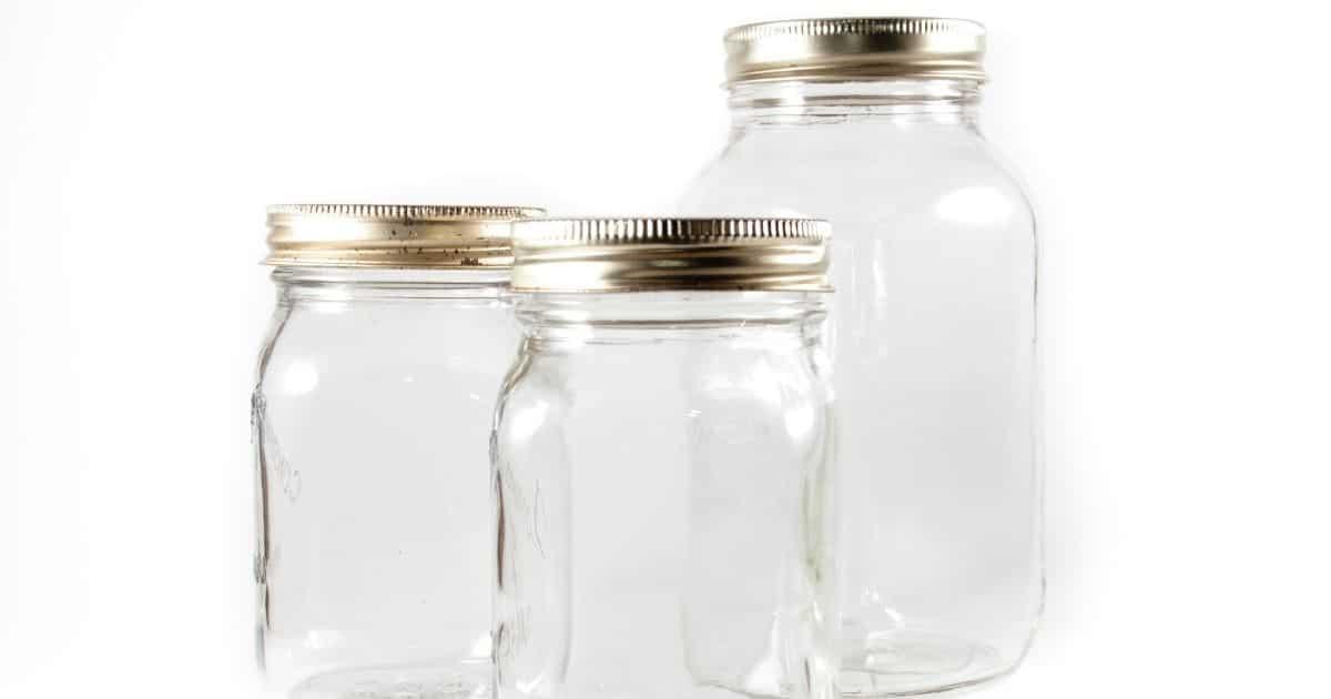 freeze orange juice in mason jars
