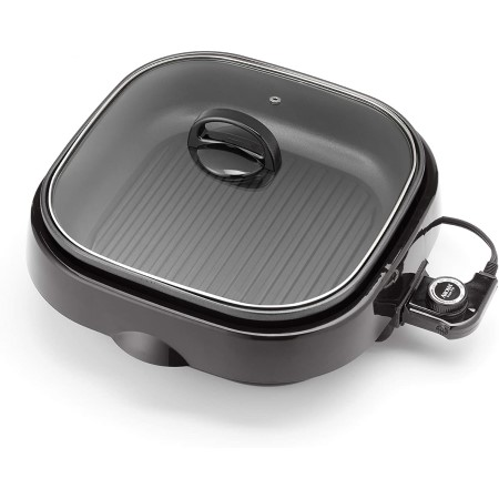 Aroma housewares asp 218b grillet 4qt 3 in 1 cool touch
