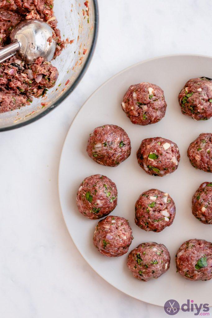 Baked cheesy keto meatball 2