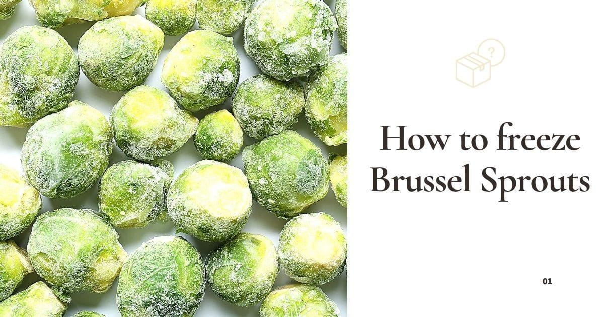 Frozen Brussel sprouts