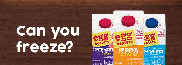 Can you freeze egg beaters