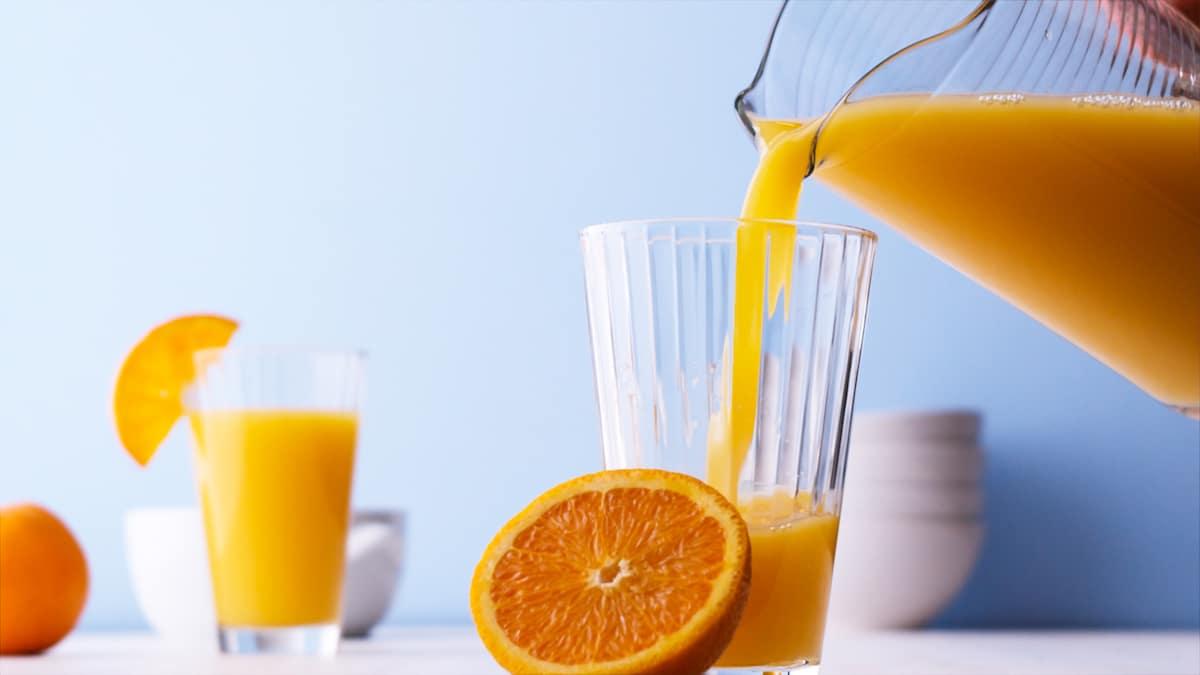use frozen orange juice to drink