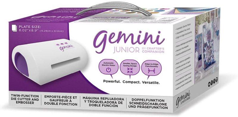 Gemini twin function cutter & embosser crafter's companion junior