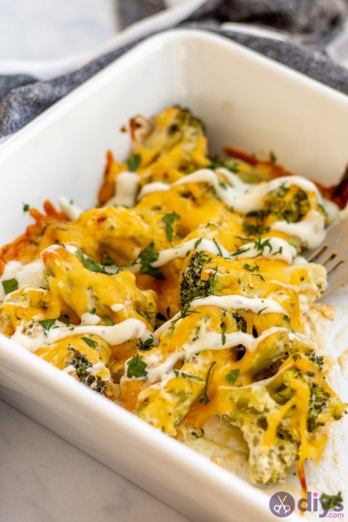 Keto broccoli casserole 10