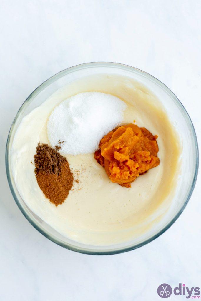 Keto pumpkin cheesecake swirl 10