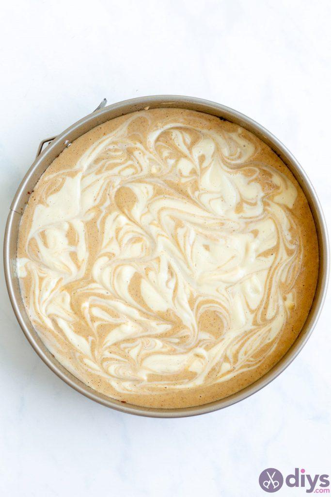 Keto pumpkin cheesecake swirl 14