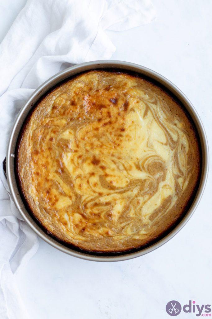 Keto pumpkin cheesecake swirl 15