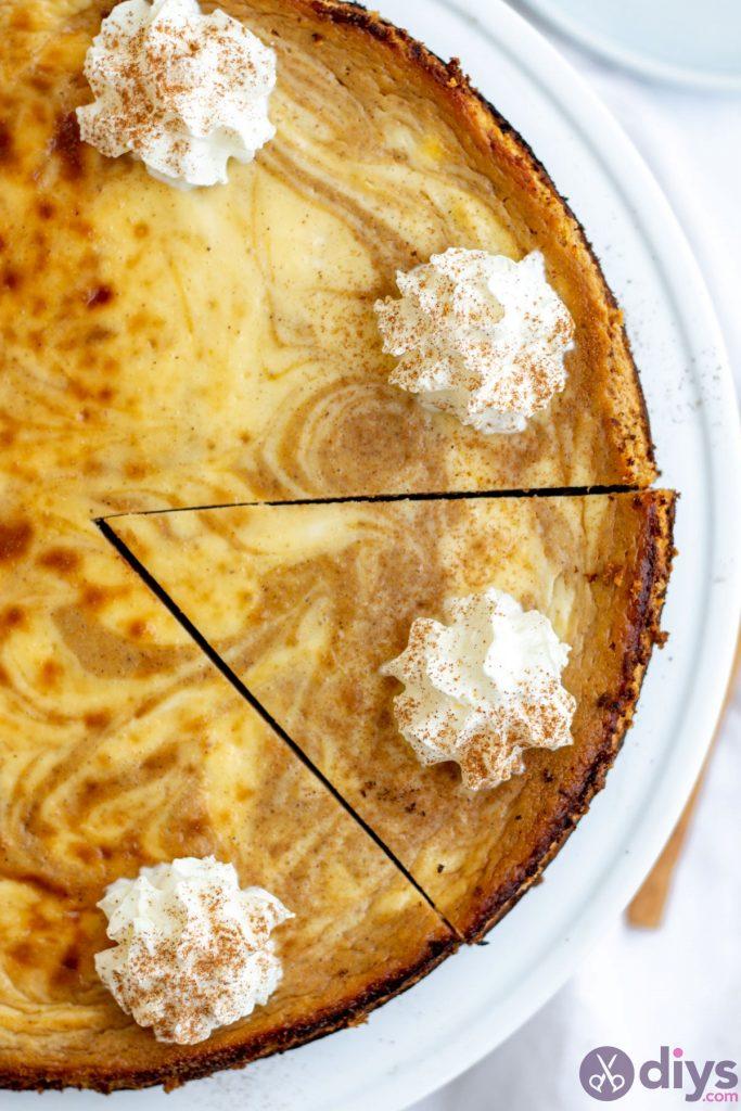 Keto pumpkin cheesecake swirl 18