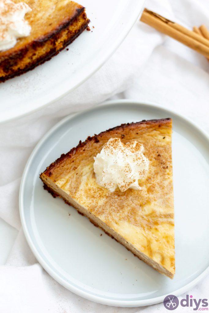 Keto pumpkin cheesecake swirl 20
