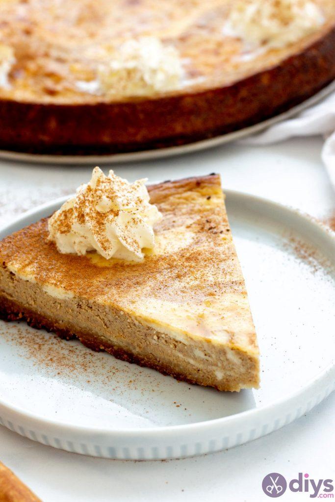 Keto pumpkin cheesecake swirl 22
